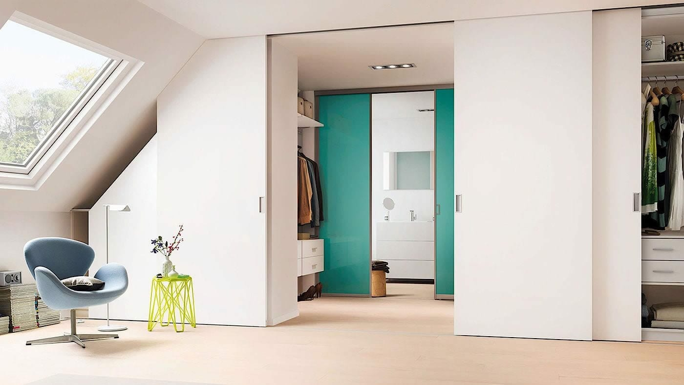 Walk-In wardrobe sliding doors