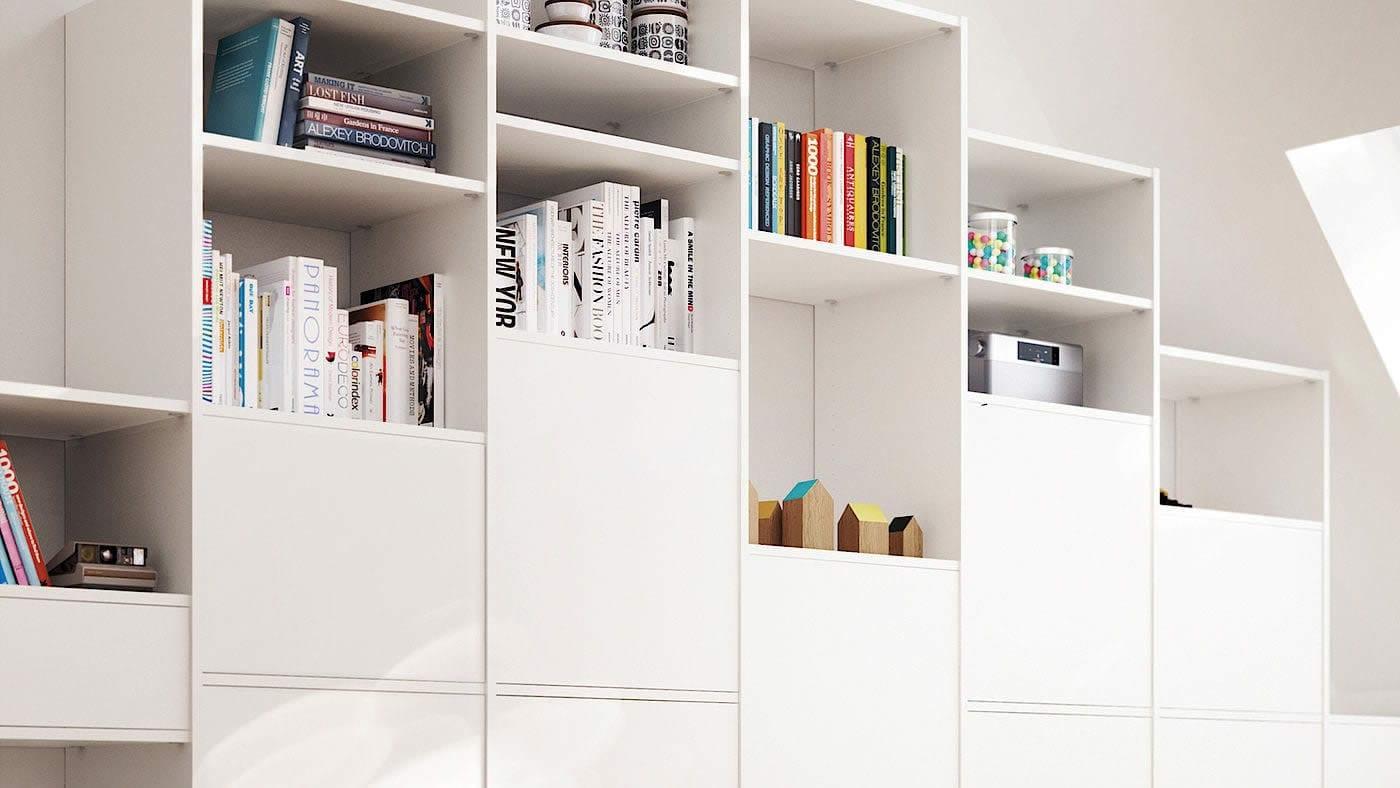 White Smart Interior Living Area System